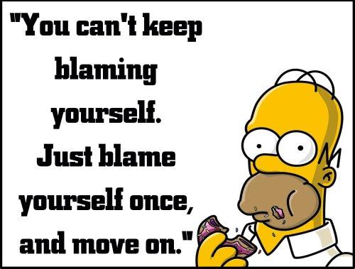 homer blame