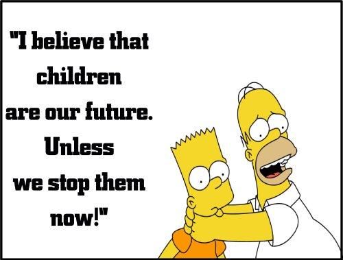 homer children future