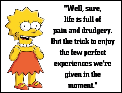 lisa simpson pain and drudgery