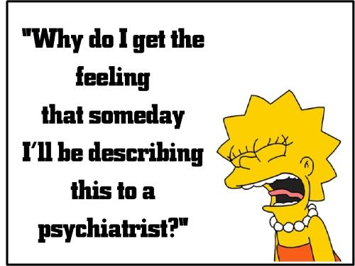 lisa simpson psychiatrist