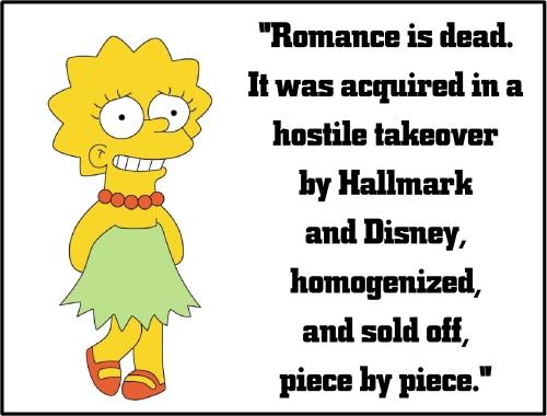 lisa simpson romance dead