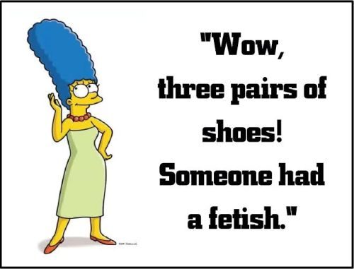 marge simpson fetish