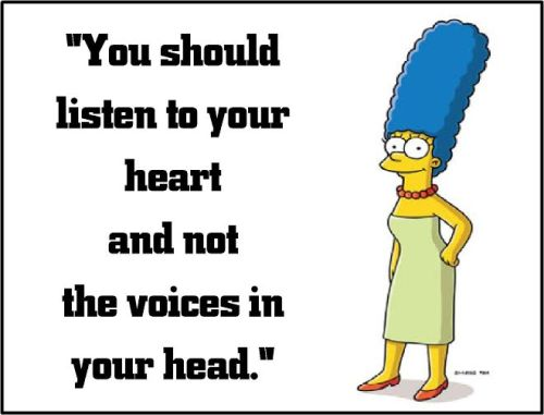 marge simpson listen to your heart