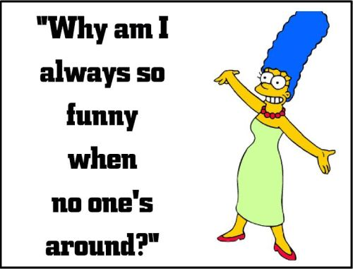 marge simpson so funny