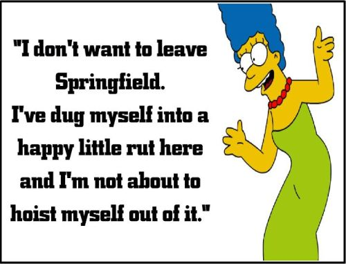 marge simpson springfield