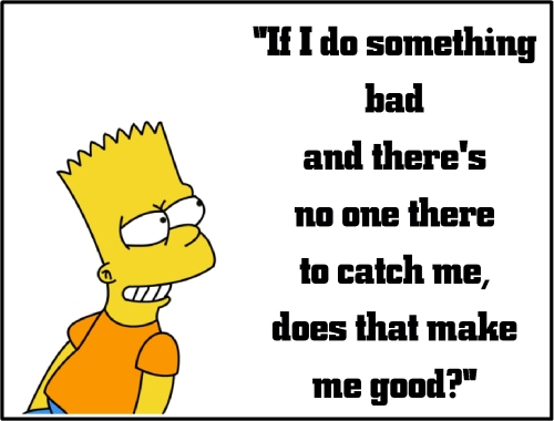 bart simpson good or bad