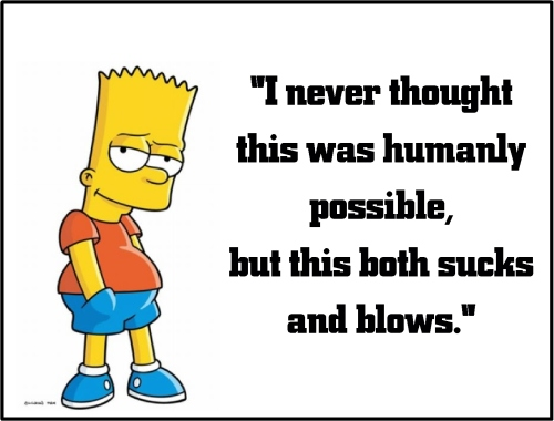 bart simpson sucks and blows