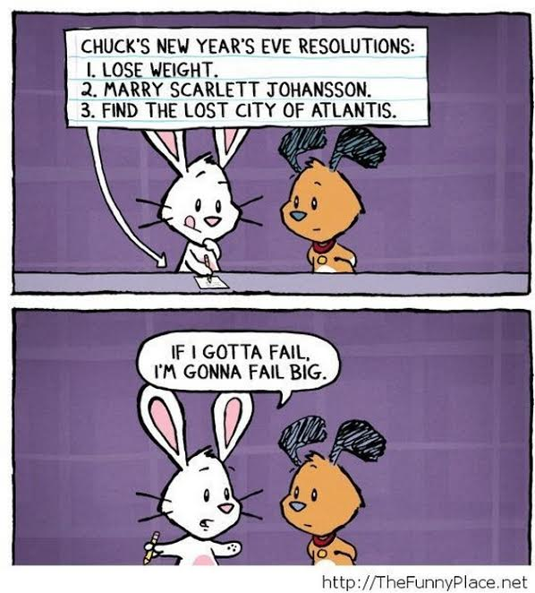 Marginal New Year S Motivation Comically Quirky