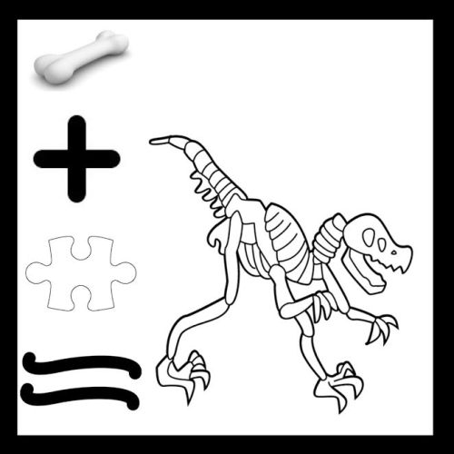 The dinosaur depicted here is most likely the approximate result of assembling bones together, puzzle-style.