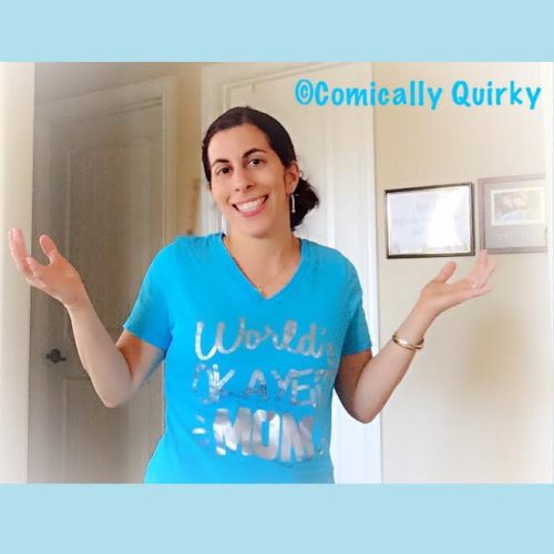 Seriously, I've got a shirt to prove I'm The World's Okayest Mom. How cool is that?