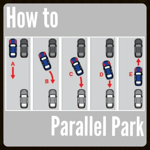 Parallel parking. Yay.